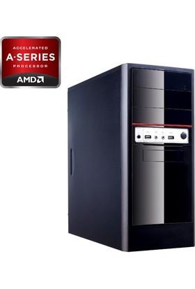 Ates99 MS0015 A8 X4 7600 16GB 320GB R7 240 Freedos Masaüstü Bilgisayar