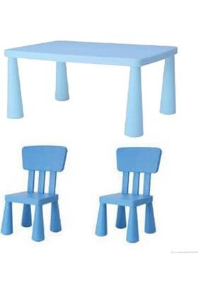 Weblonya Masa Sandalye Seti Çocuk Masası