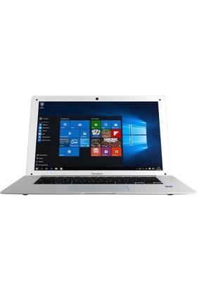 "Hometech HT BOOK 14 Intel Atom Z3735F 2GB 32GB Windows 10 Home 14"" Taşınabilir Bilgisayar Beyaz"