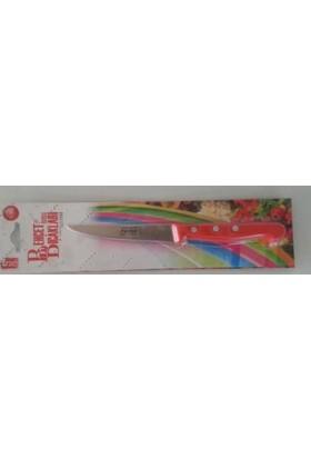 Behçet Kırmızı Saplı Küçük Boy Bıçak
