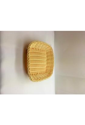 İkram Dünyası Er Ekmek Sepeti Kare 20 x 20 x 5