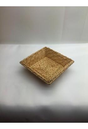 İkram Dünyası Er Ekmek Sepeti 17 x 17 x 5