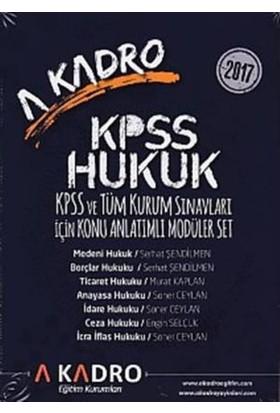 A Kadro Kpss Hukuk Kpss Ve Tüm Kurum Sınavları İçin Konu Anlatımlı Modüler Set (7 Kitap)
