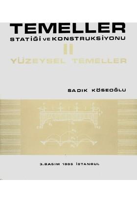 Temeller Statiği Ve Konstruksiyonu 2 Yüzeysel Temeller