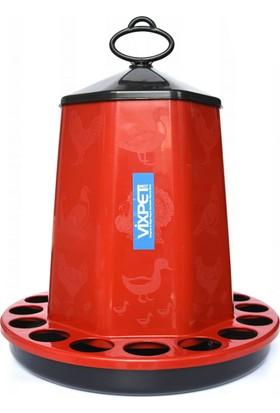 Vixpet Tavuk Yemliği Pro 12 Kg Kırmızı
