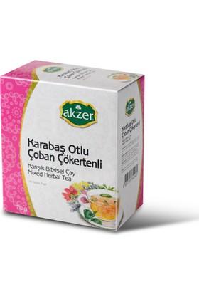 Akzer Karabaş Otlu Çoban Çökertenli Çay 60 Poset
