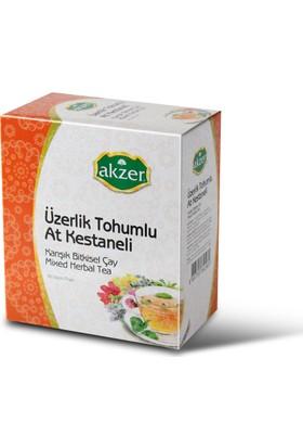 Akzer Üzerlik Tohumlu At Kestaneli Çay (60 Poşet )