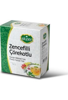 Akzer Zencefilli Çörekotlu Bitkisel Çay 60 Lı