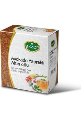 Akzer Avakado Yapraklı Altınotlu Bitkisel Çay 60 Lı