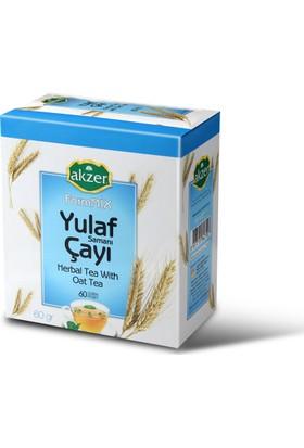 Akzer Yulaf Samanı Çayı 60 Lı