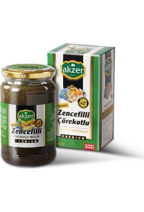 Akzer Zencefilli Çörekotlu Macun Premıum 420 Gr