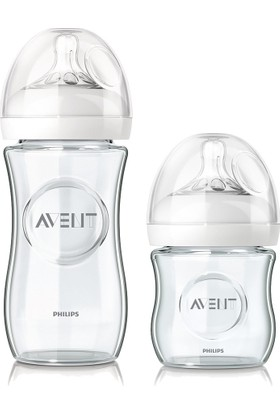 Philips Avent Natural Cam Biberon Seti 2'li (240 ml + 120 ml)