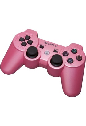 Sony Ps3 Kablosuz Pembe Oyun Kolu - Wireless Dualshock - Joystick