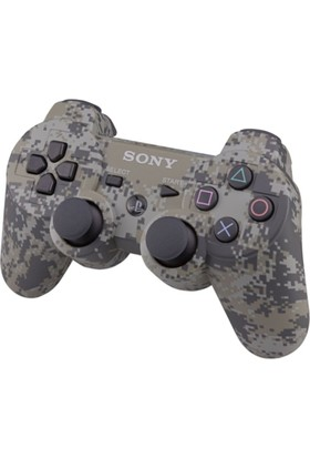 Sony Ps3 Kablosuz Kamuflaj Oyun Kolu - Wireless Dualshock - Joystick