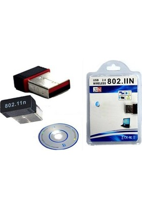 Appa usb Mini Nano Wireless Wifi Alıcısı Adaptör Mini 150 Mbps Usb 2.0