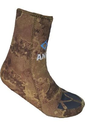 Anax Pro 3mm Dalış Çorabı Lycra