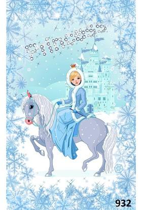 Hiper Antialerjik Çocuk Odası Halısı Princess 130x200 cm