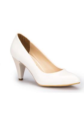 Polaris 71.309022Rz Beyaz Kadın Ayakkabı