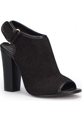 Polaris 71.309914Sz Siyah Kadın Sandalet