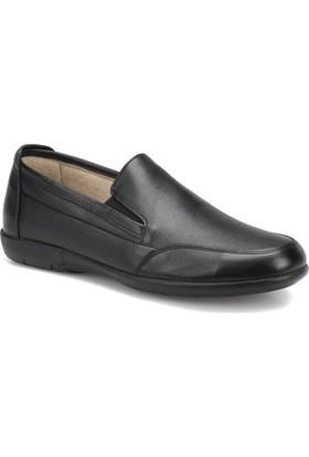 Flogart Gzl-1 M 1494 Siyah Erkek Deri Modern Ayakkabı