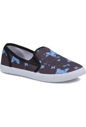 Kinetix 1241331 Siyah Kadın Ayakkabı