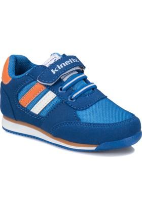 Kinetix Tramor Saks Turuncu Beyaz Erkek Çocuk Sneaker Ayakkabı
