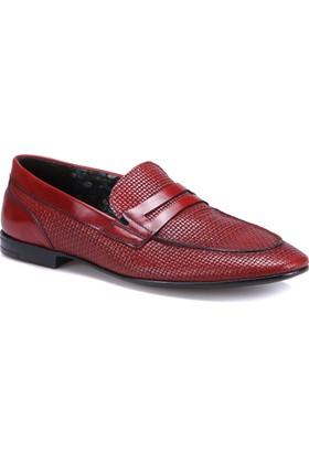 Marco Ferretti 160348 M 2142 Bordo Erkek Deri Ayakkabı