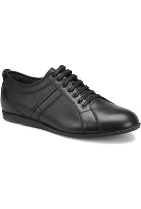 Oxide 312-14 M 1300 Siyah Erkek Deri Klasik Ayakkabı