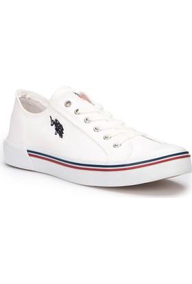 U.S. Polo Assn. Penelope Beyaz Erkek Sneaker Ayakkabı