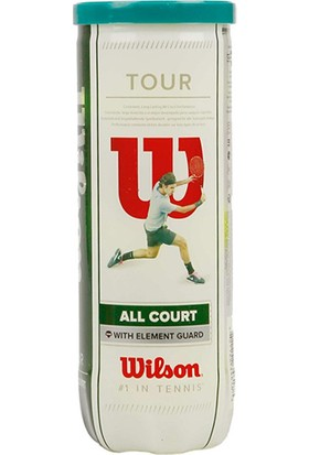 Wilson Premium Tour All Court 3lü Tenis Topu (WRT106300)