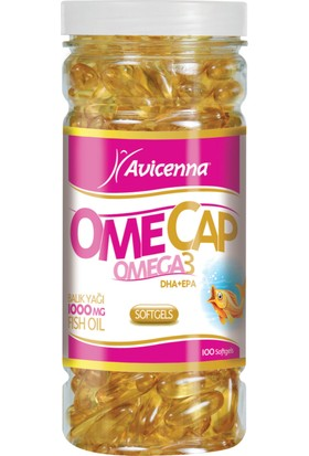 Avicenna Omecap Omega-3 80 soft jel