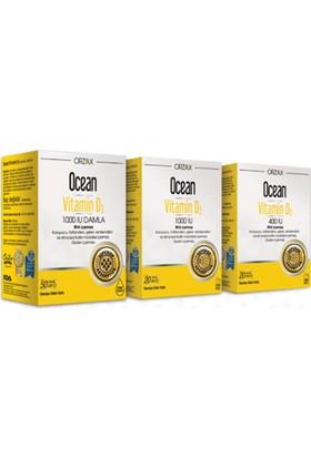 Ocean Vitamin D3 400 ıu 20ml sprey