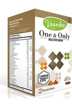 Voonka One&Only Multi 62 Kapsül