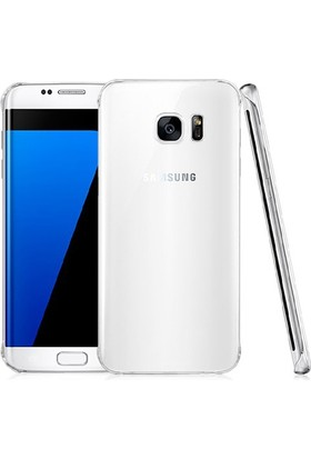 Case 4U Samsung Galaxy S7 Edge Kılıf Ultra İnce Silikon Şeffaf
