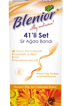 Blenior Sir Ağda Bantı 41'Li Normal Cilt