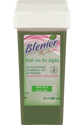 Blenior Rollon Sir Ağda Set 100 Ml Kuru