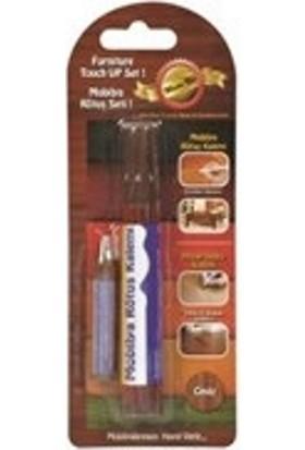 Filo Yapı Siyah Renk / Mobilya Rötüş Kalemi + Ahşap Dolgu Kalemi