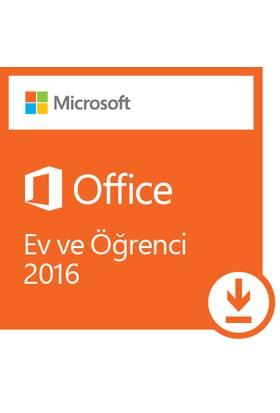 Microsoft Office Ev ve Öğrenci 2016 79G-04293 (Dijital İndirilebilir Lisans)