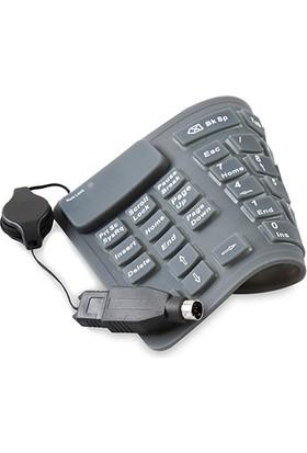 Everest Sk-1086 Usb/Ps/2 Katlanabilir Combo Numerik Klavye