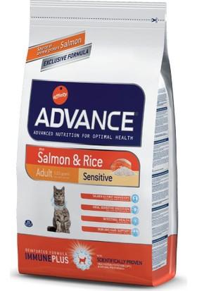 Advance Sensitive Somonlu Yetişkin Kedi Maması 3 Kg
