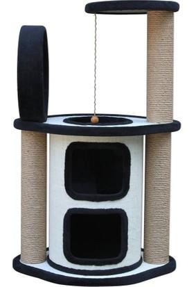Agira Maestro Çok Katlı Yuvalı Kedi Tırmalama Ve Oyun Alanı 96 Cm