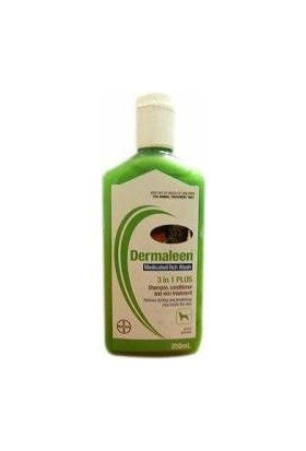 Bayer Dermaleen Temizleyici Kaşıntı Giderici Antiseptik Şampuan 250Ml