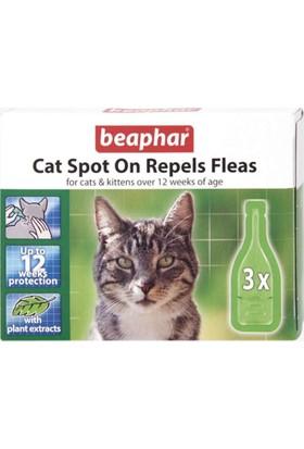 Beaphar Bio Spot On Repels Fleas Kedi Pire Damlası (3'lü Paket)
