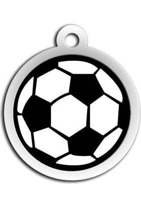 Dalis Pet Tag - Mineli Seri Futbol Topu Desenli Künye