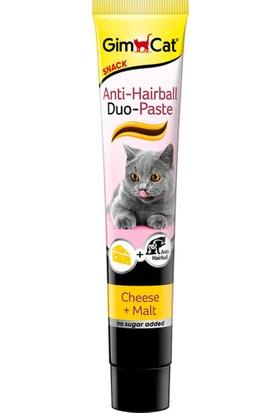 Gimcat Anti Hairball Tüy Yumağı Önleyici Peynirli Kedi Ödül Macunu 50 Gr