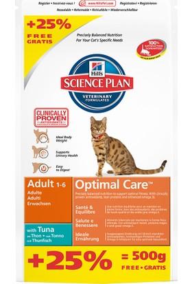 Hills Adult Tuna Ton Balıkli Yetişkin Kedi Maması 2 Kg + 500 Gr Entegre Paket