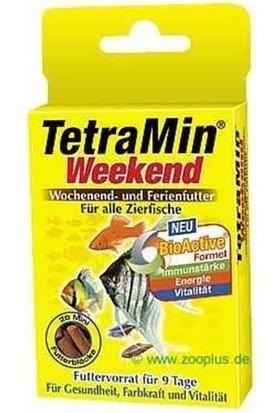 Tetramin Weekend Balıklar İçin Tatil Yemi 20 Çubuk