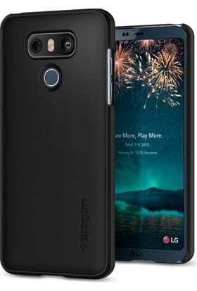 Spigen LG G6 Kılıf Thin Fit Black - A21CS21231