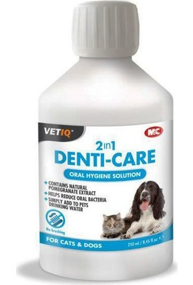 Mark & Chappell Vetiq Denti-Care Kedi & Köpek İçin Ağız Ve Diş Bakım Solüsyonu 250 Ml