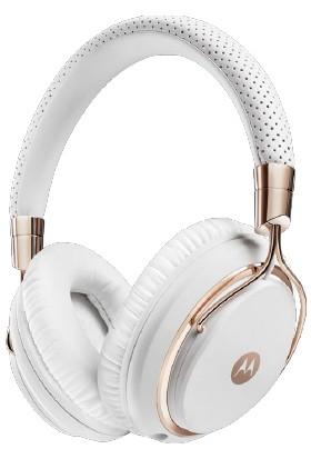 Motorola Moto Pulse M Series Beyaz Metal Kablolu Kulaklık